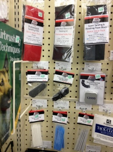 New Selection of Micro Abrasives at Hobby Lobby