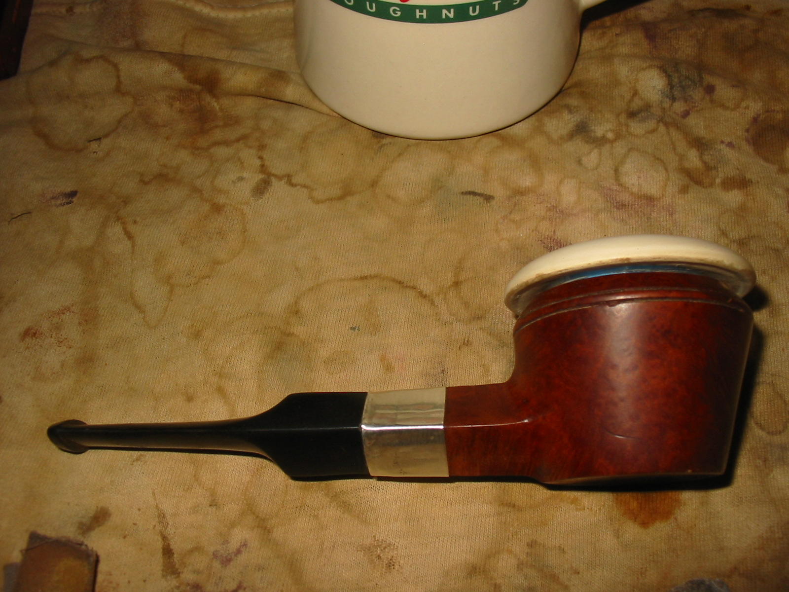 how to clean a briar pipe bowl