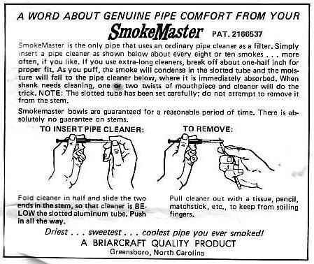 Smokemaster Patent Stem