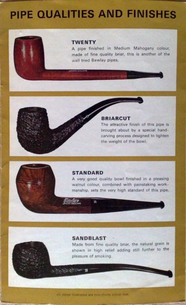 Bewlay Pipe Chart 5