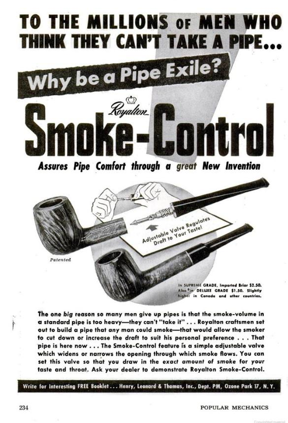 Smoke Control Advert