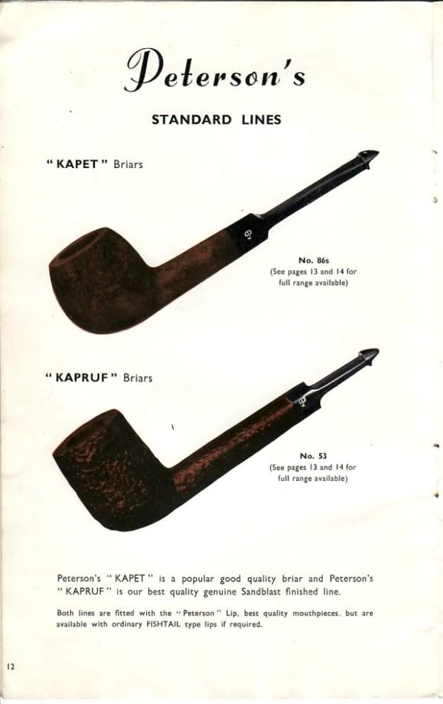 1965-Peterson-Catalogue - Kapruf Line