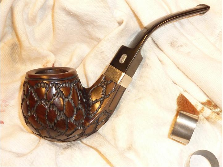 Repairing a cracked shank on a pipe | rebornpipes
