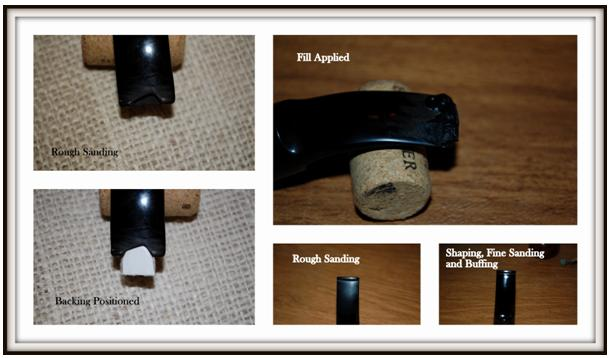 A Passion for Rhodies and Dogs - Stem Repair on a Dunhill 52081 Rhodesian (2/2)