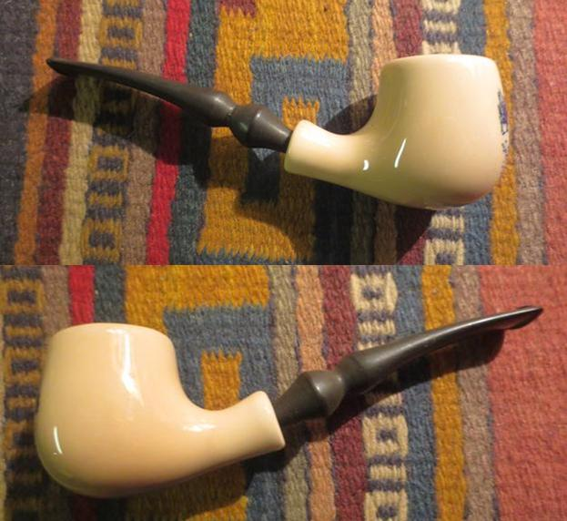 Cleaning up a Pair of Goedewaagen Delft Ceramic Pipes   rebornpipes