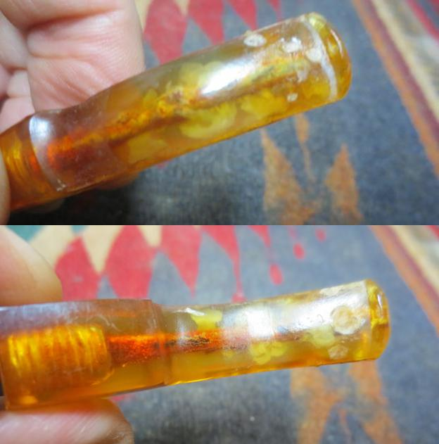 2d2ca4e4773ca This is where some of the issues show up. The tenon had broken when Jeff  was cleaning it up. Fortunately it had not broken off in the shank or the  stem so ...