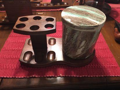 6pipe stone jar