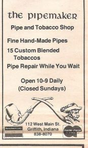Pipemaker Ad From Purdue Cal student paper